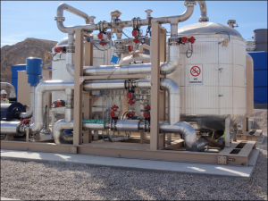 Gas Conditioning System at Project Site